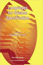 Languages for System Specification: Selected Contributions on UML, SystemC, System Verilog, Mixed-Signal Systems, and Property Specification from FDL'03