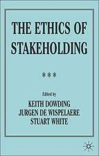 The Ethics of Stakeholding