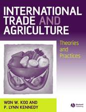 International Trade and Agriculture: Theories and Practices