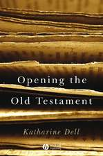 Opening the Old Testament