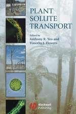 Plant Solute Transport
