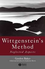 Wittgenstein′s Method: Neglected Aspects
