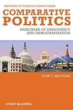 Comparative Politics: Principles of Democracy and Democratization