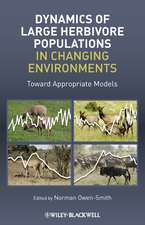 Dynamics of Large Herbivore Populations in Changing Environments