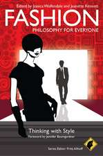 Fashion – Philosophy for Everyone: Thinking with Style