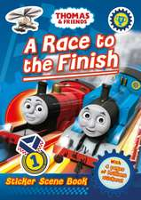 Thomas and Friends: A Race to the Finish Sticker Scene
