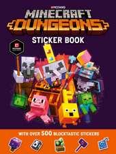 Minecraft Dungeons Sticker Book