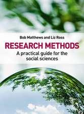 Matthews, B: Research Methods
