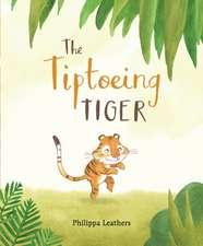Tiptoeing Tiger