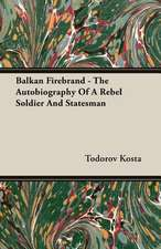 Balkan Firebrand - The Autobiography of a Rebel Soldier and Statesman:  President's Politics from Grant to Coolidge