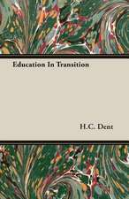 Education in Transition:  Part I (1923)