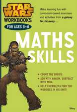 Star Wars Workbooks: Maths Skills Ages 5-6