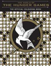 The World of Hunger Games: The Official  Colouring Book