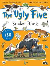 Ugly Five Sticker Book