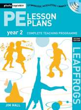 PE Lesson Plans Year 2