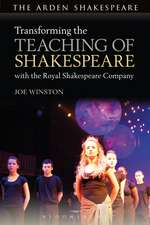 Transforming the Teaching of Shakespeare with the Royal Shakespeare Company