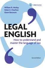 McKay, W: Legal English