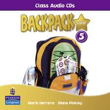 Backpack Gold 5 Class Audio CD New Edition