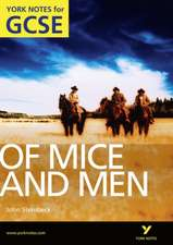 Stephen, M: Of Mice and Men: York Notes for GCSE (Grades A*-