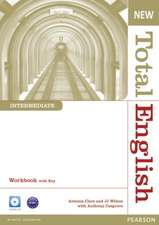 New Total English Intermediate Workbook with CD