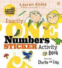 Exactly One Numbers Sticker Activity Book
