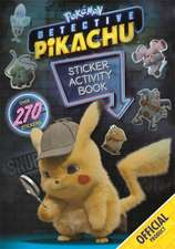 Detective Pikachu Sticker Activity Book