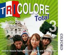 Tricolore Total 3 Audio CD Pack (5x Class CDs 1x Student CD)
