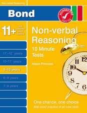 Bond 10 Minute Tests Non-Verbal Reasoning 9-10 yrs