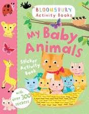 My Baby Animals Sticker Activity Book