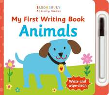 My First Writing Book Animals