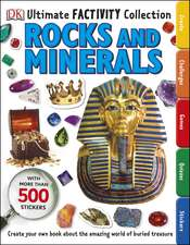 Rocks and Minerals Ultimate Factivity Collection: Create your own Book about the Amazing World of Buried Treasure