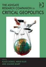 The Routledge Research Companion to Critical Geopolitics