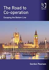 The Road to Co-Operation:  Escaping the Bottom Line