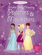 Sticker Dolly Dressing. Popstars and Movie Stars