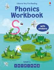 Phonics Workbook 1 Very First Reading