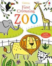 Greenwell, J: First Colouring Book Zoo