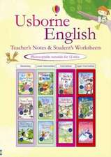 Usborne English Learners Teachers Notes and Worksheets - 1