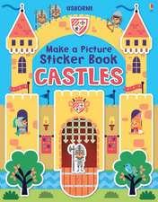 Make a Picture Sticker Book: Castles
