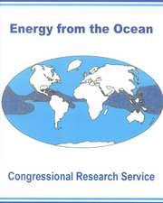 Energy from the Ocean