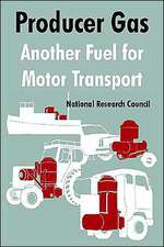 Producer Gas:  Another Fuel for Motor Transport