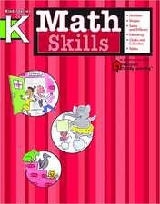 Math Skills, Kindergarten