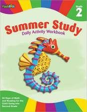 Summer Study Daily Activity Workbook:  Grade 2 (Flash Kids Summer Study)