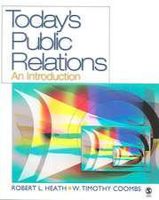 Today's Public Relations: An Introduction