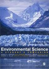 Environmental Sciences: A Student's Companion
