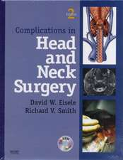 Complications in Head and Neck Surgery with CD Image Bank