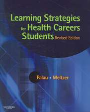 Learning Strategies for Health Careers Students - Revised Reprint