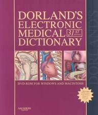 Dorland's Electronic Medical Dictionary DVD-ROM