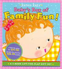 Baby's Box of Family Fun!:  Where Is Baby's Mommy?; Daddy and Me; Grandpa and Me, Grandma and Me