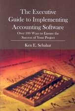 The Executive Guide to Implementing Accounting Software:  Over 100 Ways to Ensure the Success of Your Project