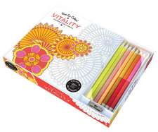 Vive Le Color! Vitality:  Color Therapy Kit [With Pens/Pencils]
